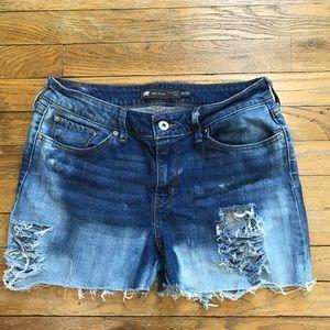 Levi's Shorts - Distressed Levi's Denim Shorts